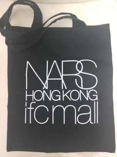 NARS tote bag, 黑色 40cm長不連帶 x 34cm闊 (全新)