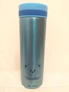 藍色真空保溫杯, 280ml (全新)