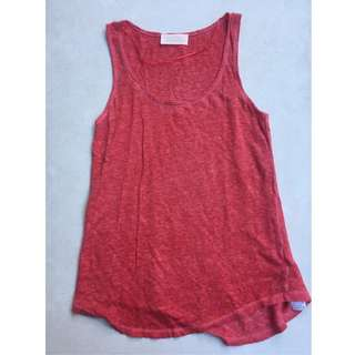 ZARA red tank top