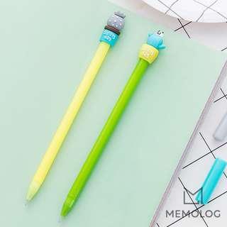 Set of 2 Cactus Gel Pen