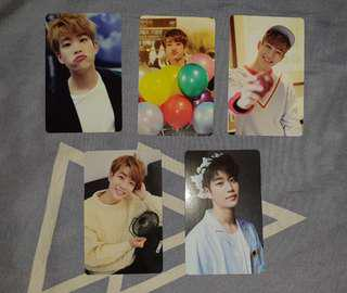 MJ photocards Aroha official fanclub 1st