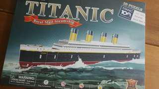 Brand new titanic 3D puzzle