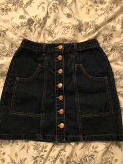 Never Worn Jean skirt