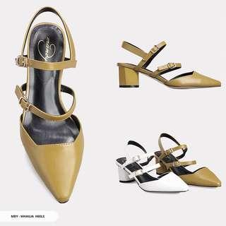 Olive heels 5cm