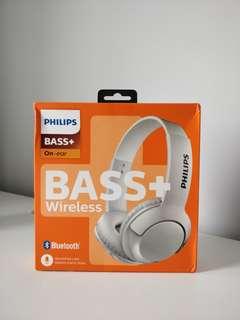 BNIB Philips Bass+ Wireless Headphones