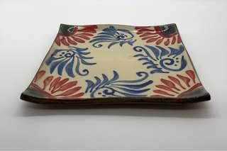 沖繩琉球手製陶藝碟