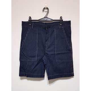 🚚 直條紋短褲 約莫35腰