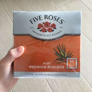 Five Roses pure premium rooibos tea