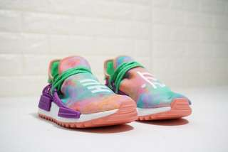 9848c8e2ed05b Pharrell Williams x Adidas NMD Human Race Holi  Chalk Coral