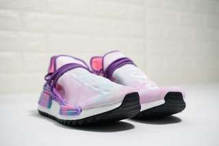 984467ce2905a Pharrell Williams x Adidas NMD Human Race Holi  Pink Glow