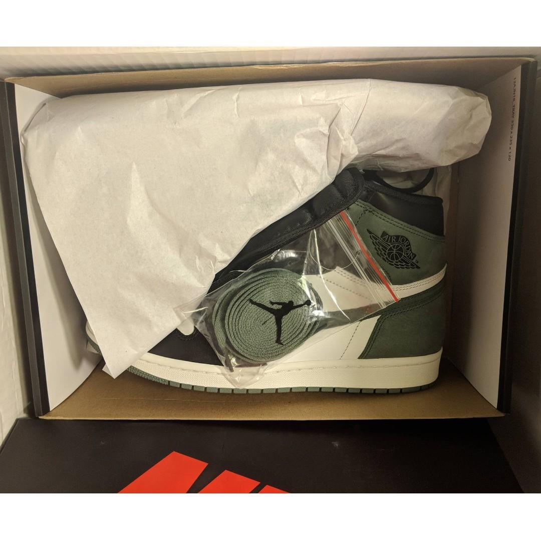 cc1b710aa0d8 50 OFF) Nike Air Jordan 1 Clay Green