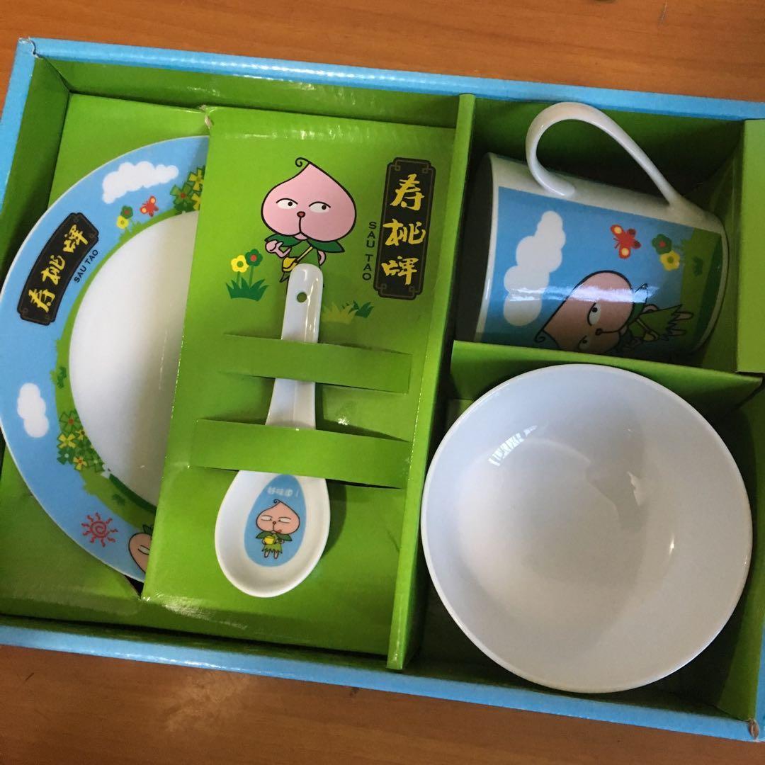 兒童餐具(碗/碟/杯/湯匙)套裝