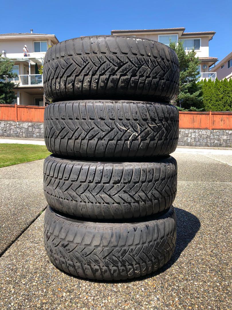 "a set of BMW 18"" wheels"