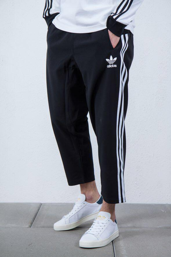 Walter Cunningham servidor Tierra  Adidas Cropped Pants/Joggers, Women's Fashion, Clothes, Pants, Jeans &  Shorts on Carousell