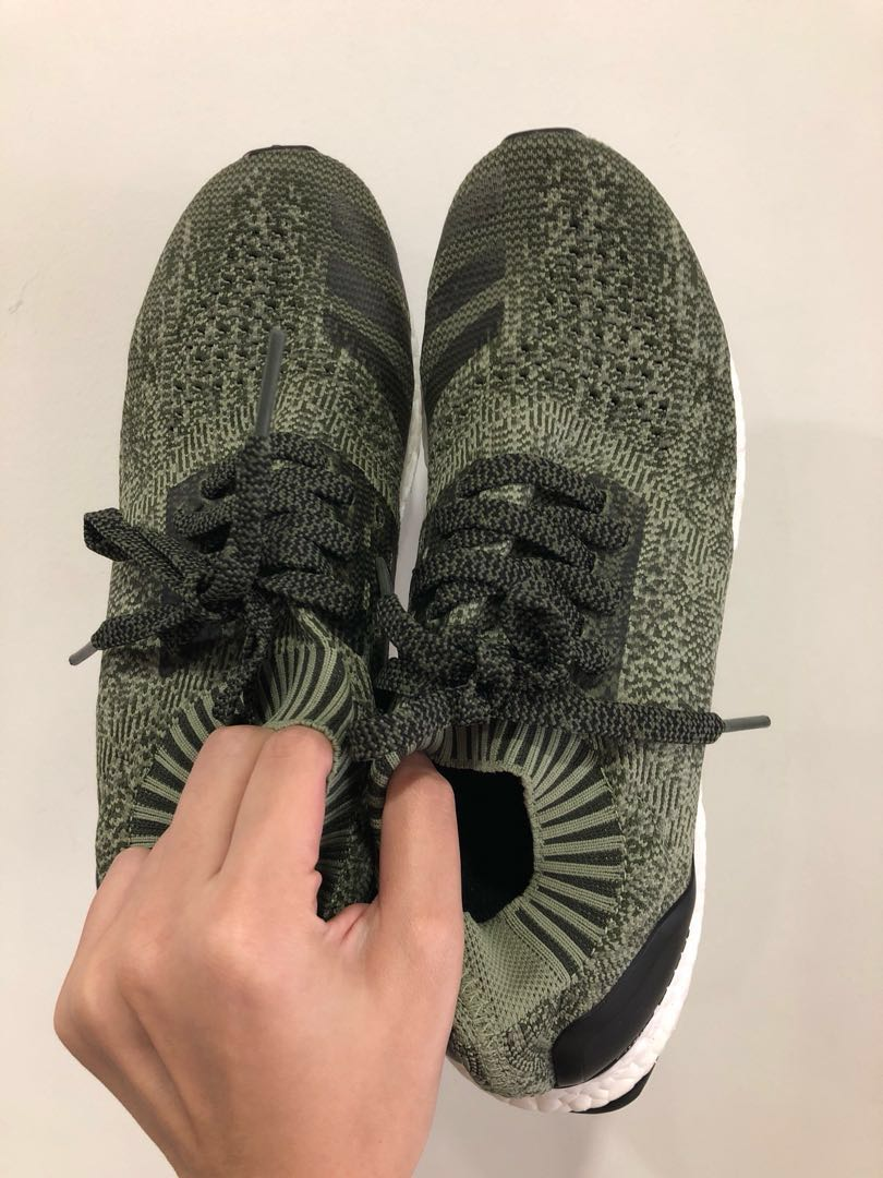 low priced 13b79 35b02 Adidas Ultraboost Uncaged Olive Green US 9, Mens Fashion, Footwear,  Sneakers on Carousell