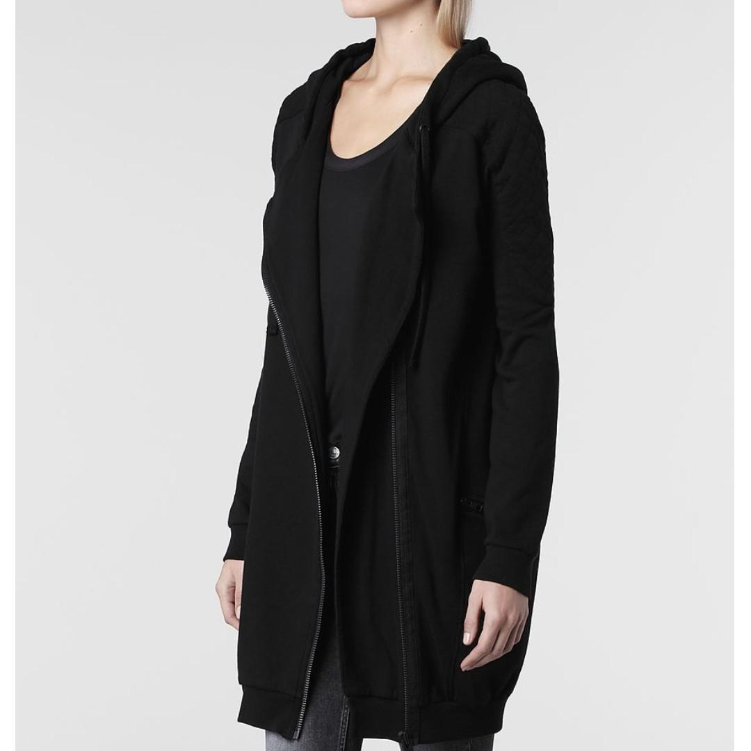 All Saint Ridley hood (jacket) black