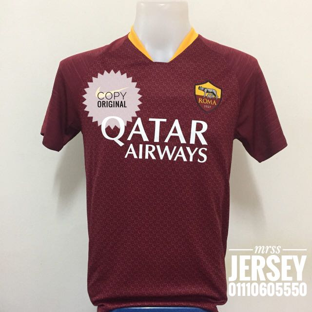 sports shoes 4c7c6 8091f AS ROMA HOME KIT 18/19