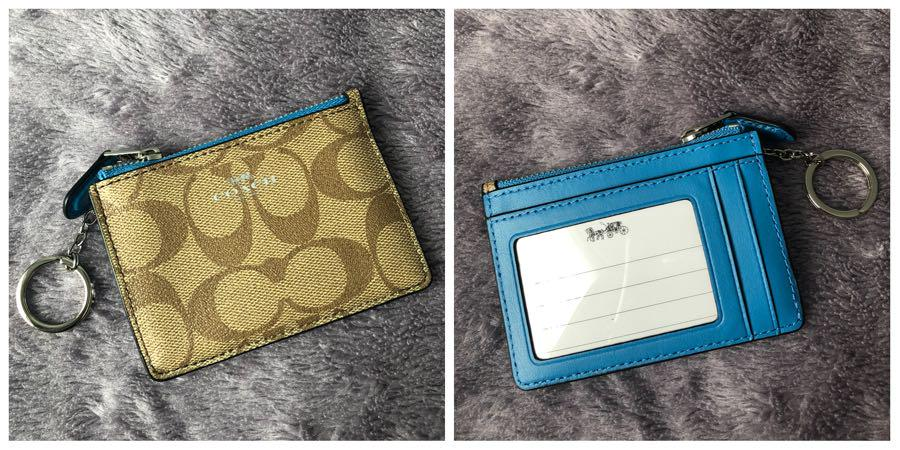 Authentic and Brandnew Coach Coin Purse with Card Holder