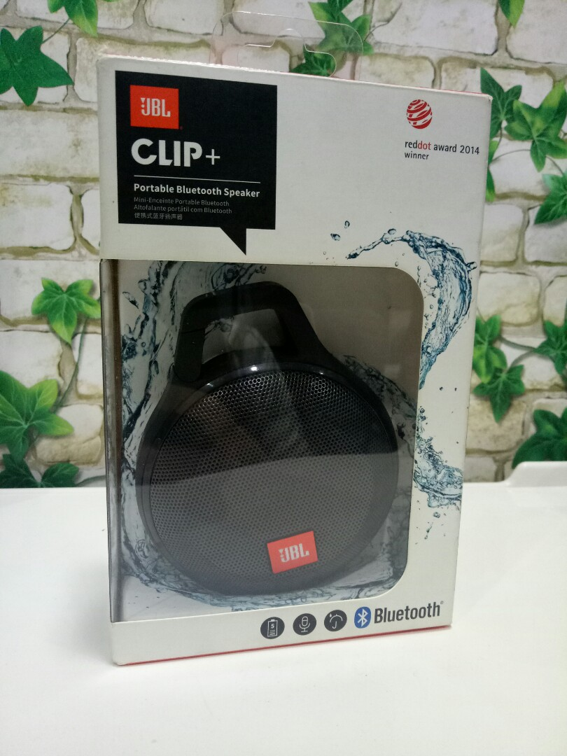 Authentic JBL Clip plus bluetooth speaker, Electronics, Audio on Carousell