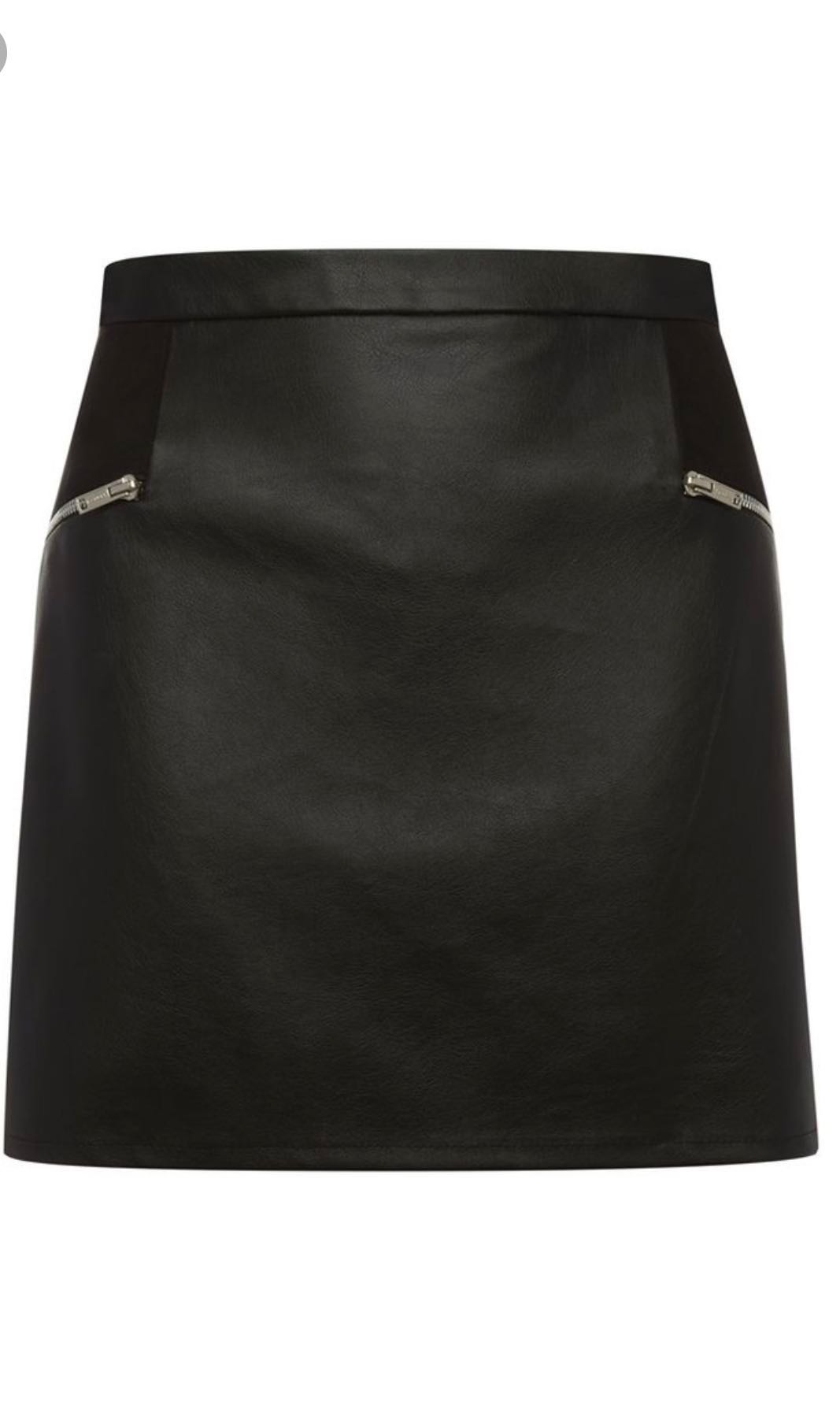 76f61d4fb Black Faux Leather Skirt PRIMARK #Fashion100, Women's Fashion ...