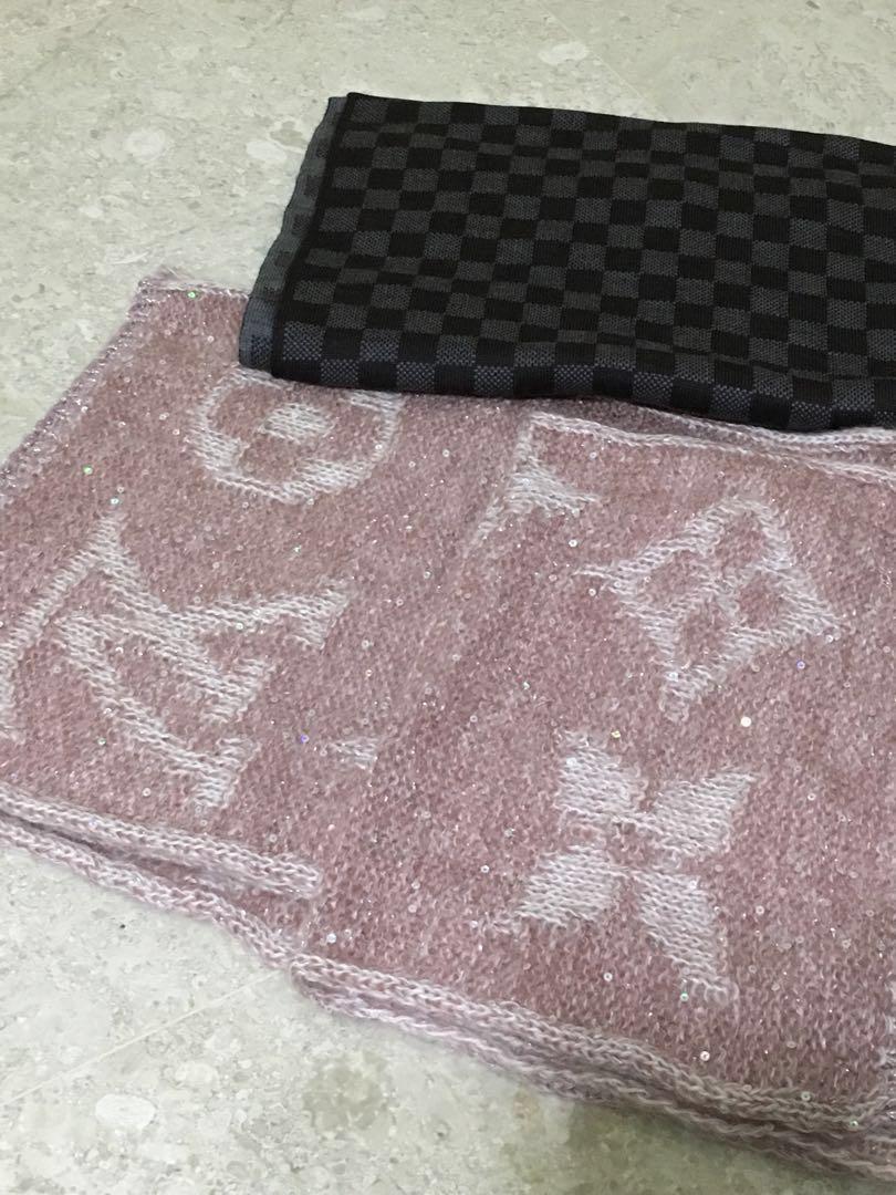 3cc15a72b9d35 Brand new BN LV Louis Vuitton shawl beanie