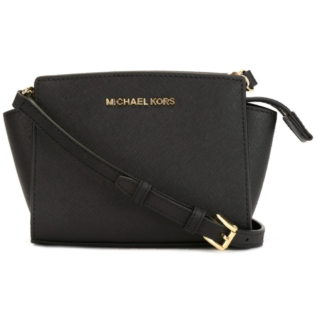 70e0de2cdbad Brand New) Michael Kors Medium Black Selma