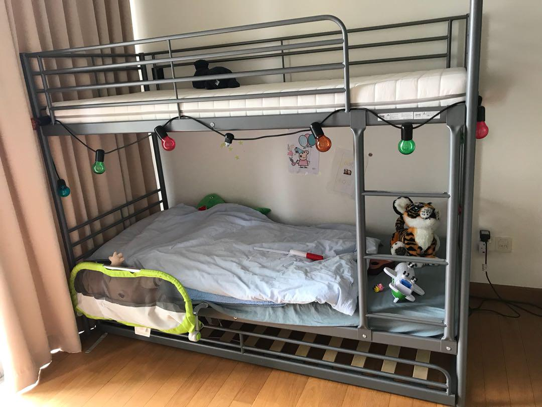 Bunk Bed Ikea Furniture Beds Mattresses On Carousell