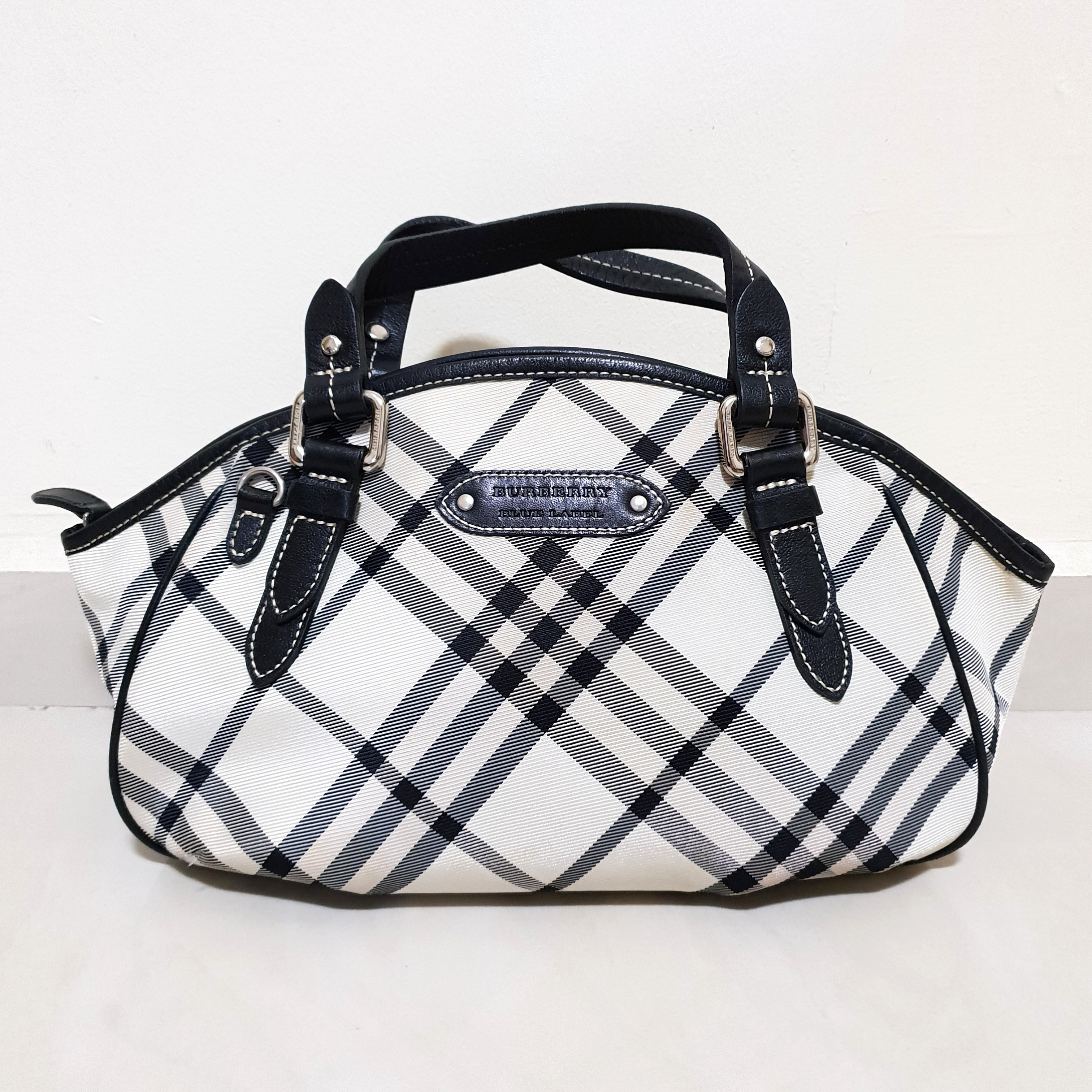 Burberry Blue Label Nova Check Handbag ce53c30915f0b
