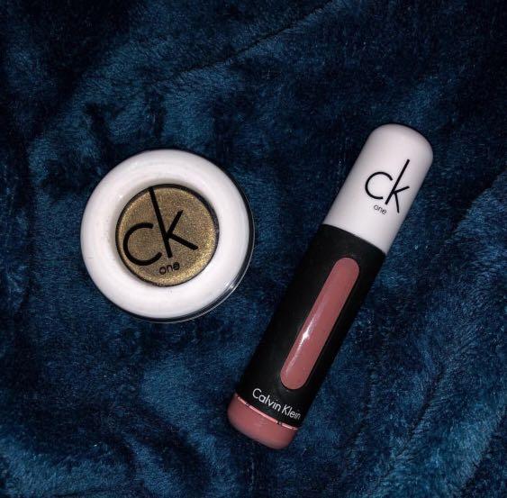 Calvin Klein Eyeshadow and Matte Lipstick