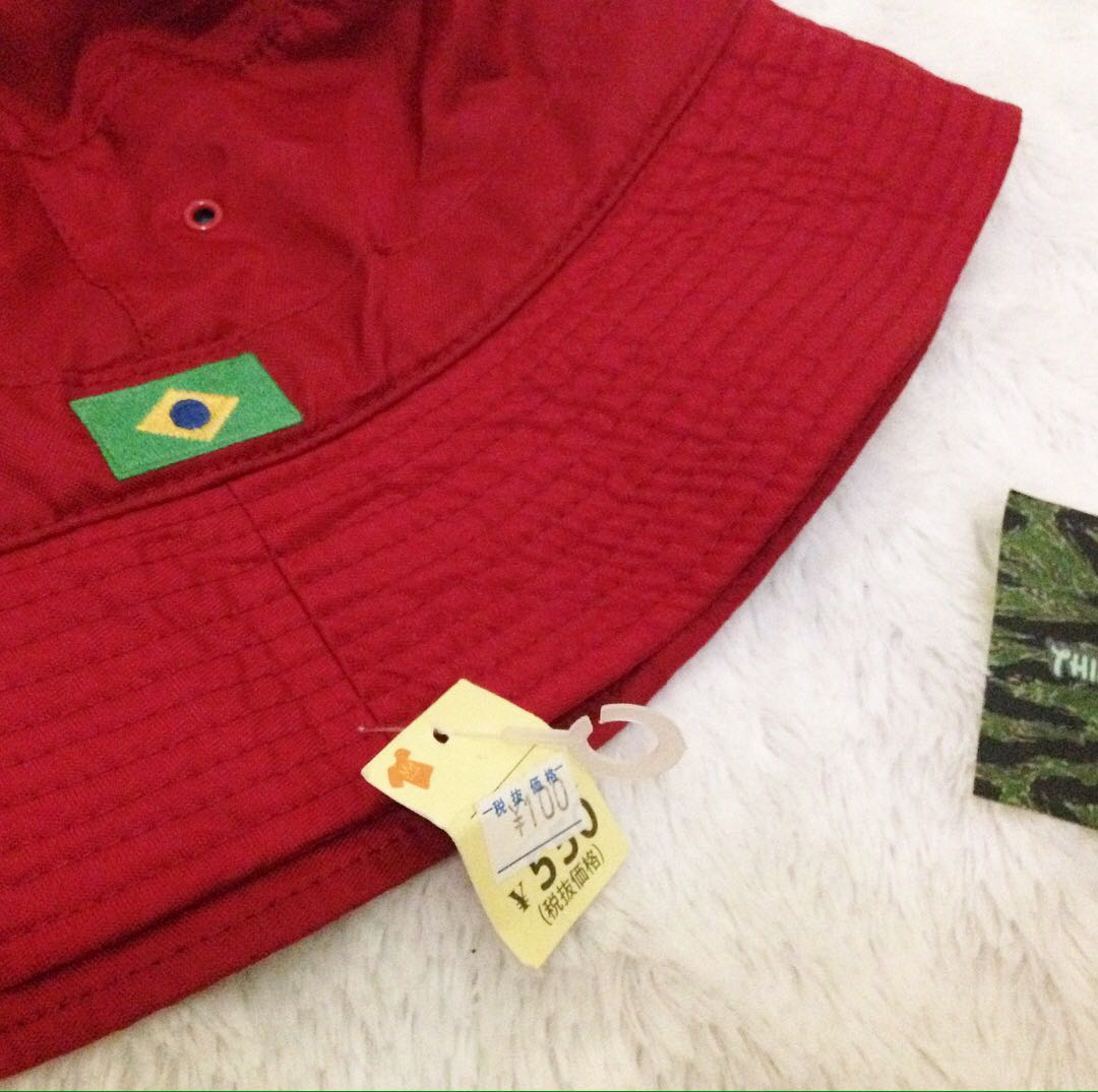 0023e20f555 GAP brazil flag bucket hat