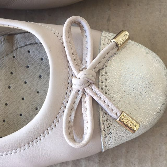 03cdc01ffd Geox Respira Ballet Flats Nude Size 36.5, Women's Fashion on Carousell