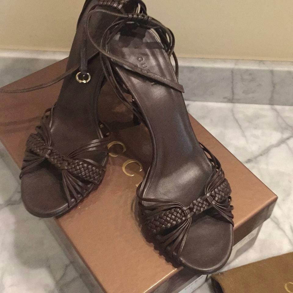 2100532c999 Gucci Sand Pelle s Cuoio Nappa Moorea Cocoa Formal Shoes Size 35 ...
