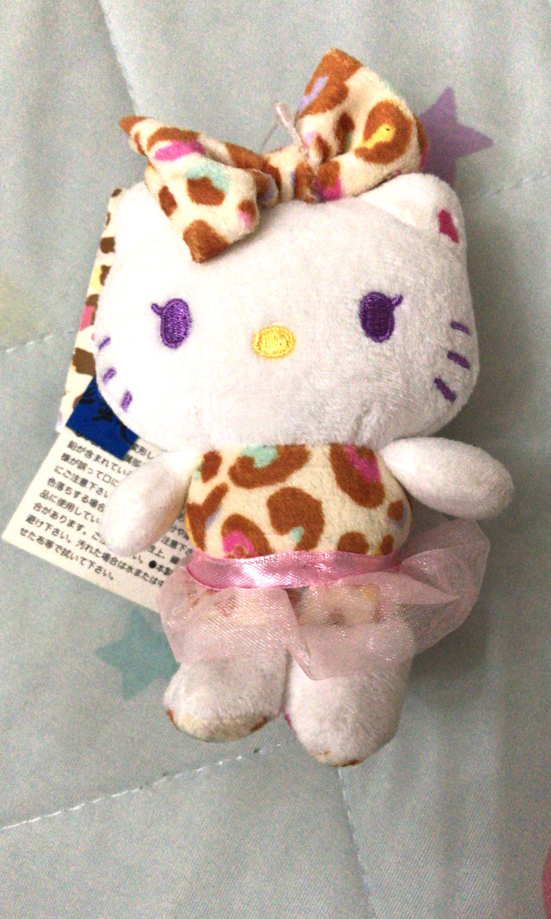 Hello Kitty 豹紋公仔 (購自日本)全新