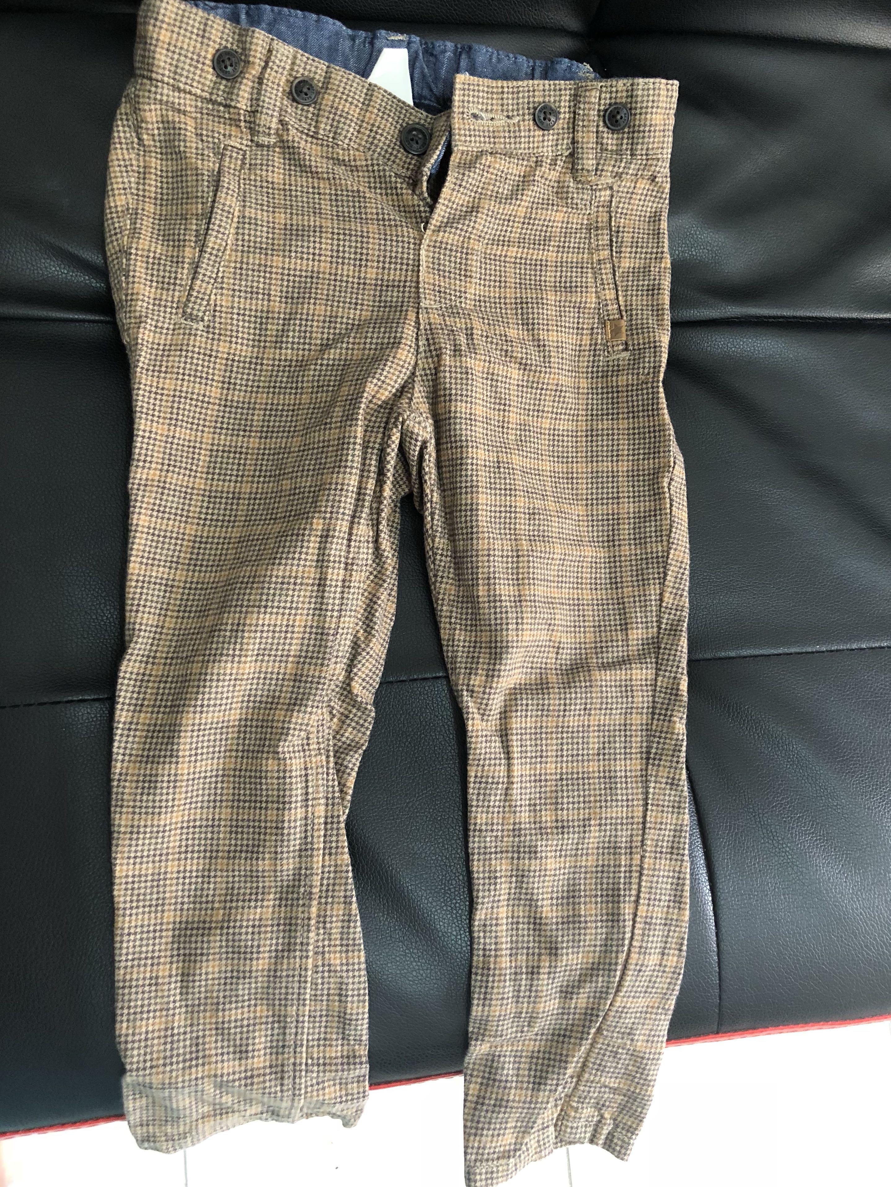 181ee45675 H&M Long Pants, Babies & Kids, Babies Apparel on Carousell