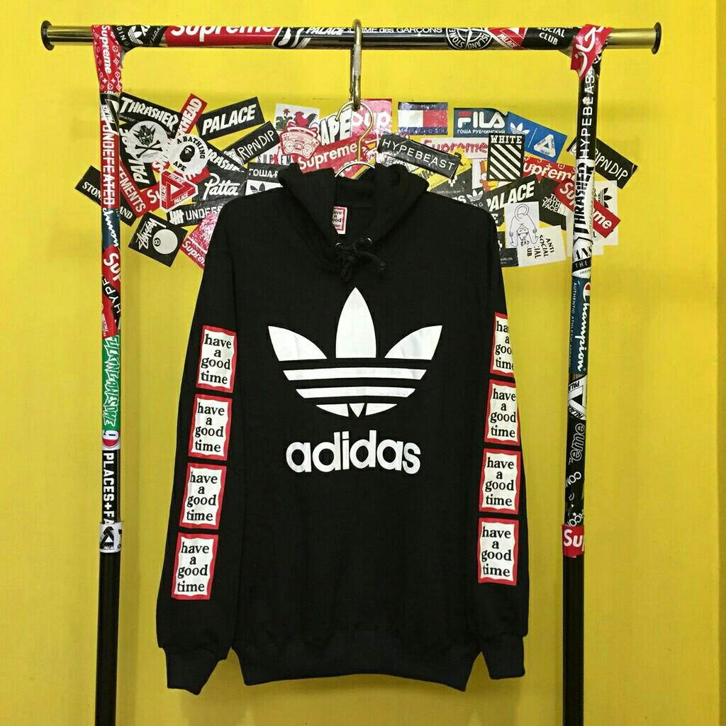 HOODIE ADIDAS X HAVE A GOOD TIME, Men's Fashion, Men's