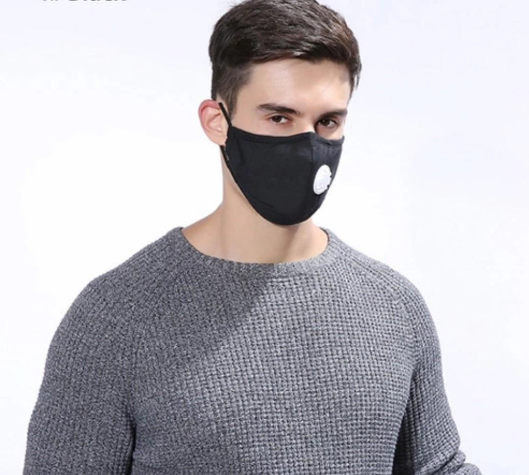 Hq Reusable Anti 1pcs Pollution Dust Mask Respirator Washable