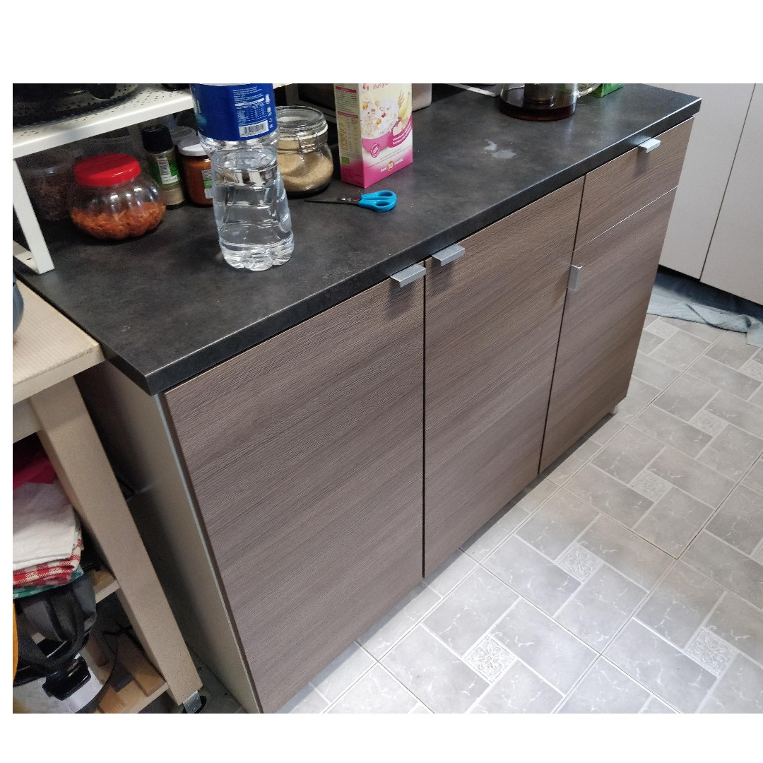 Ikea Kitchen Cabinet With Drawers Knoxhult Furniture Shelves Drawers On Carousell
