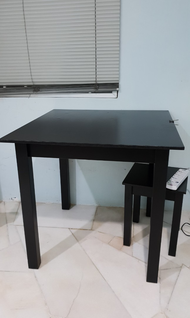 Ikea Square Dining Table With 4 Chairs Home Furniture Furniture