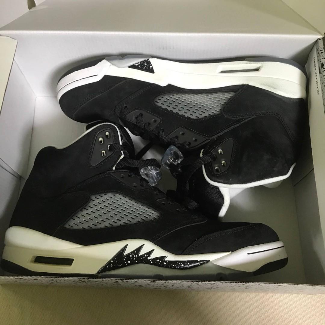 separation shoes 9894b 1e6ff Jordan Retro 5 Oreo ($50 OFF), Men's Fashion, Footwear ...
