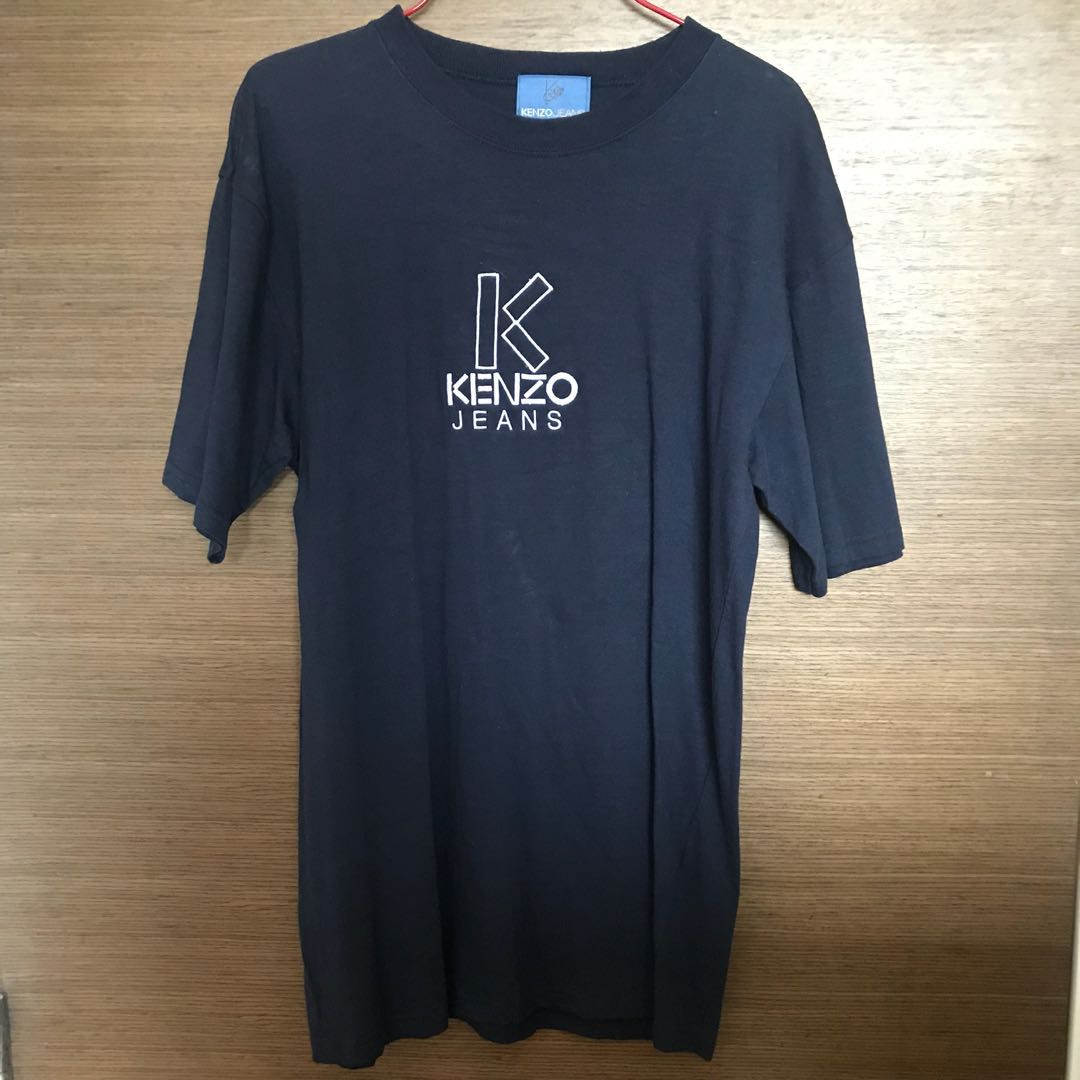 cade10f26418 Kenzo Jeans T Shirt, Men's Fashion, Clothes, Tops on Carousell