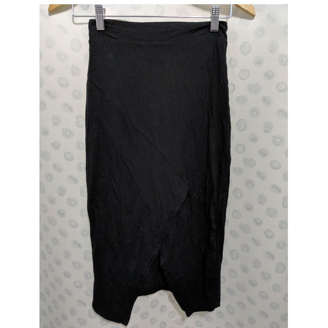 kookai tivolli skirt size 1 BLACK