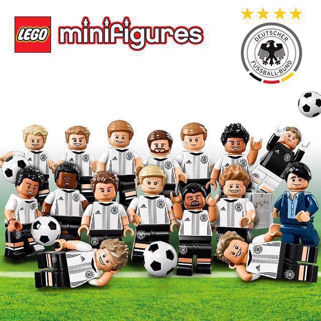 71014 Lego mats hummels dfb series german football team new