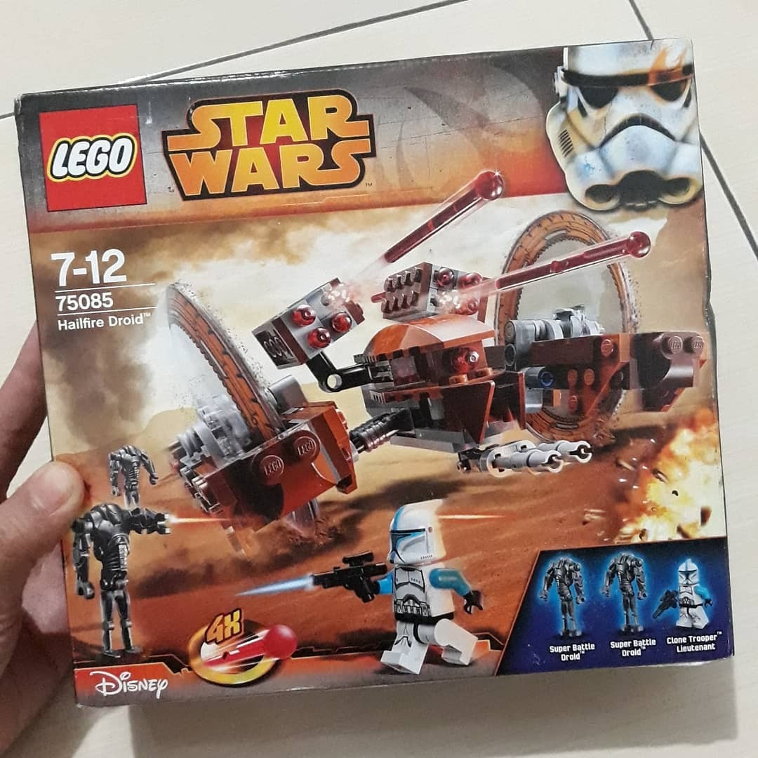 Lego Starwars Original 75085 Hailfire Droid Toys Collectibles