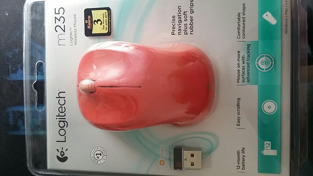 logitech mouse m235 driver windows 10