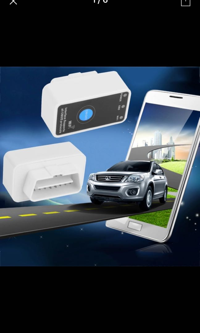 MINI ELM327 WIFI ON/OFF Switch V1 5 ELM327 WIFI OBD2/OBDII ELM 327 CAN-BUS  Diagnostic Tool for IOS iPhone iPad Android