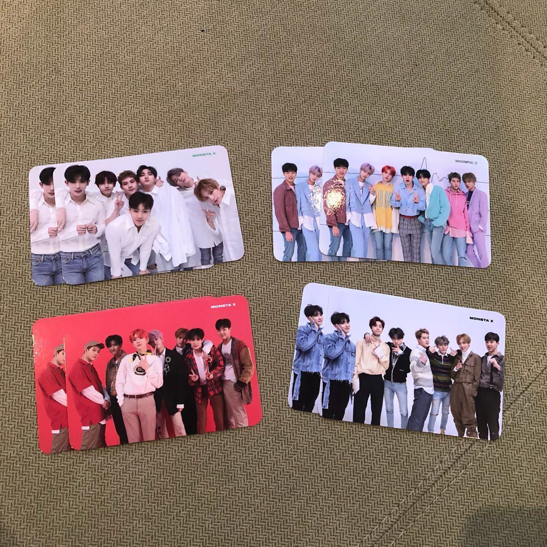 MONSTA X ALBUMS/THE CONNECT & THE CODE