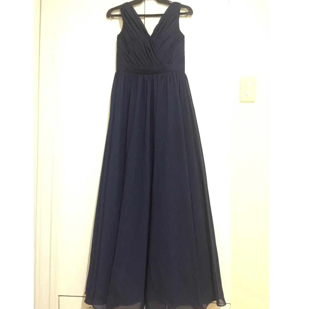 Navy Blue Gown for Sale