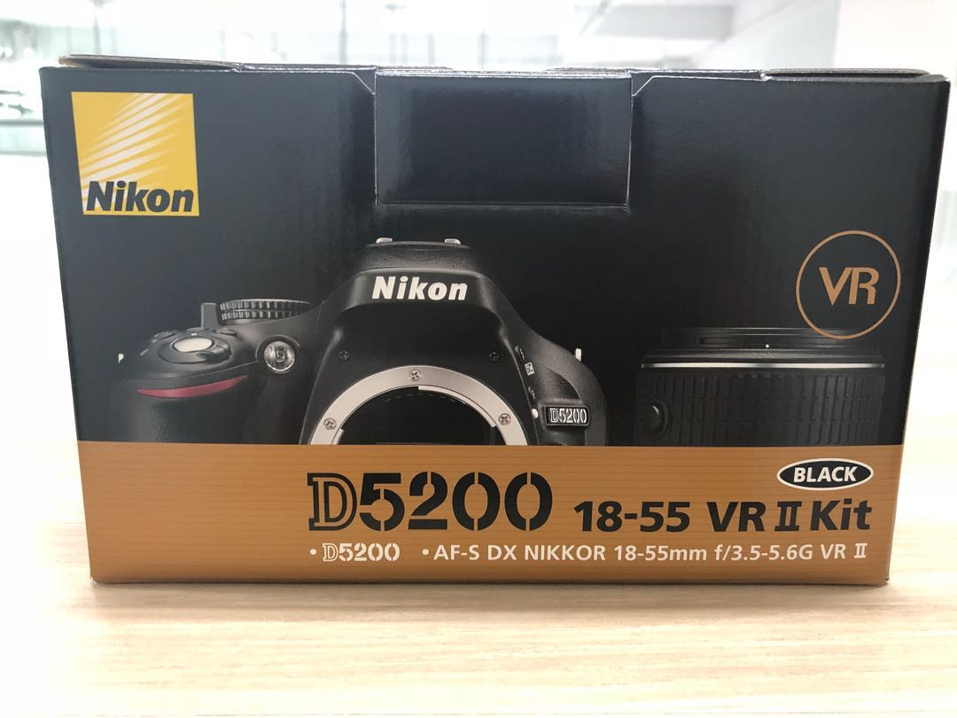 New D5200 18 55 Vr Ii Kit Photography Cameras Dslr On Carousell Nikon 55mm Share This Listing