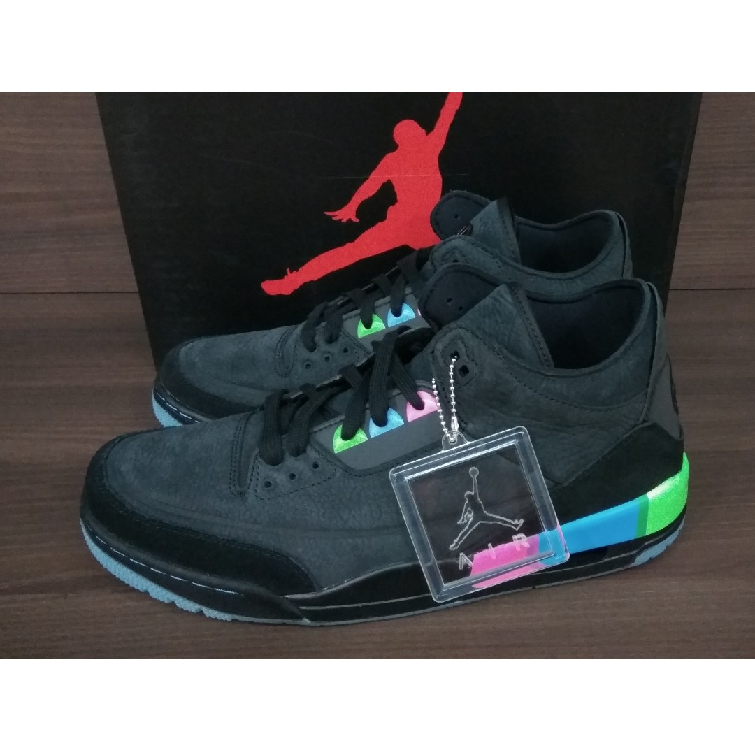 3474f62be281 Nike Air Jordan 3 Retro Q54 Quai 54