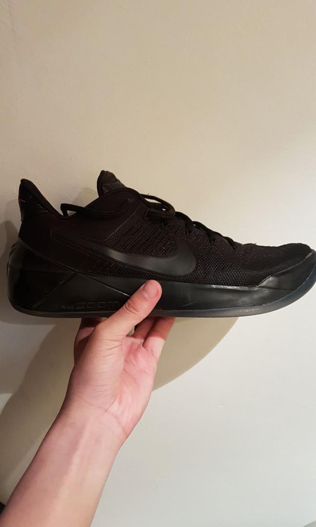 new concept 8775e 61b09 Nike Kobe AD triple black, Men's Fashion, Footwear, Sneakers ...
